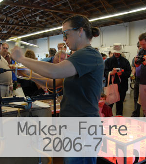 Click here to see Peterson Neon at the Maker Faire.  Link opens to a Flickr slideshow.